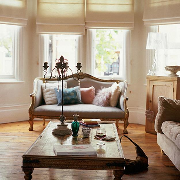 Country Style Living Room Decorating Ideas 7
