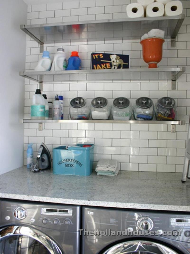 Decorating A Laundry Room On A Budget 13