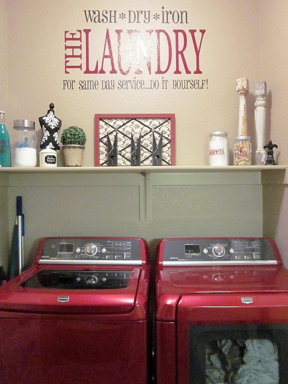 Decorating A Laundry Room On A Budget 19