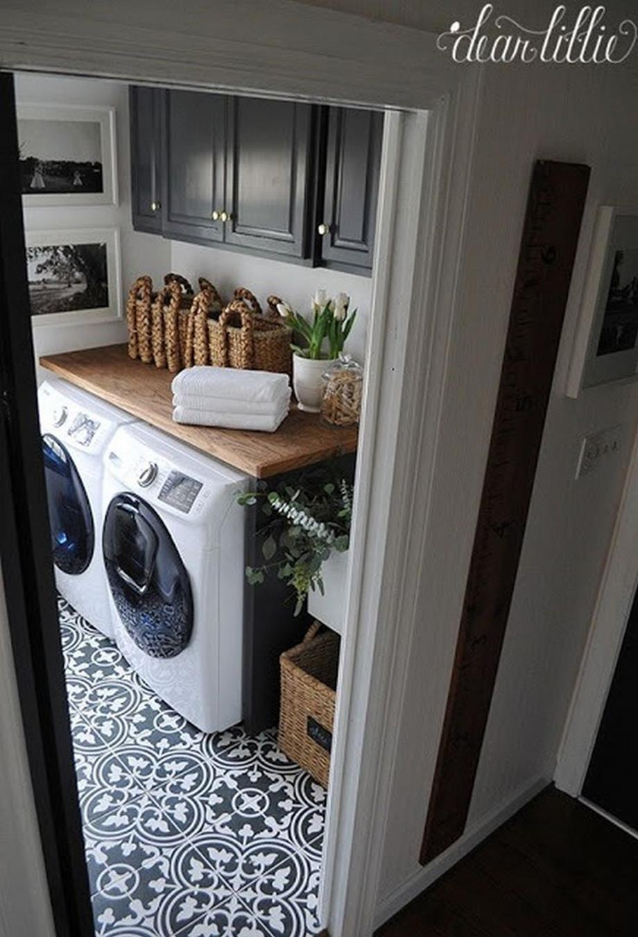 Decorating A Laundry Room On A Budget 2