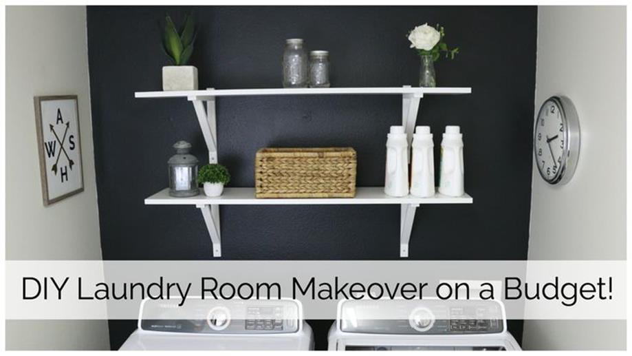 Decorating A Laundry Room On A Budget 3