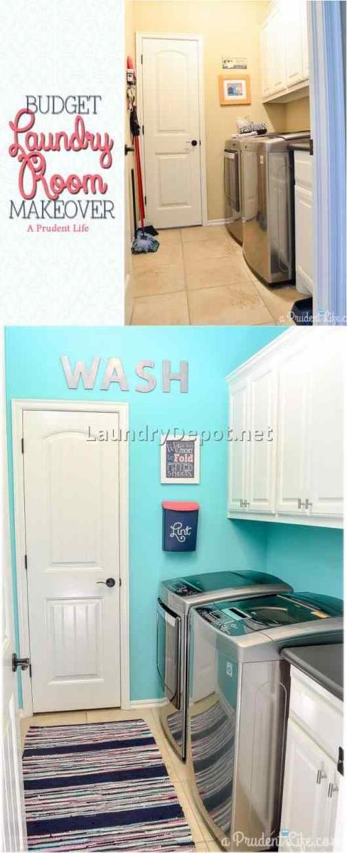 Decorating A Laundry Room On A Budget 33