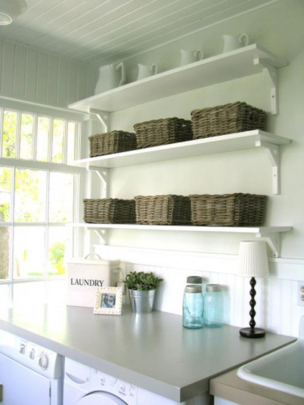 Decorating A Laundry Room On A Budget 35
