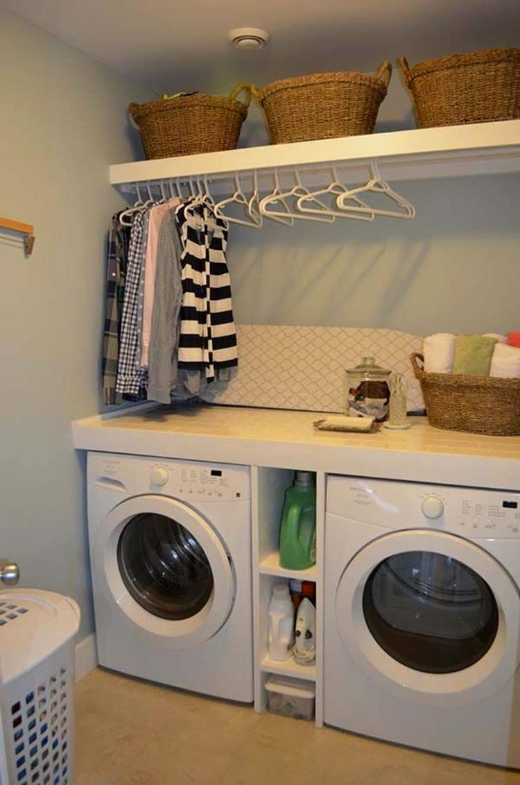 Decorating A Laundry Room On A Budget 37