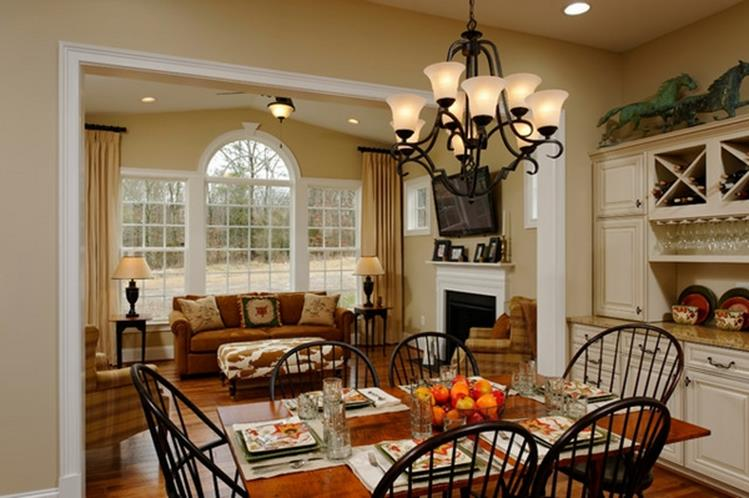 Farmhouse Dining Room Decorating Ideas 23