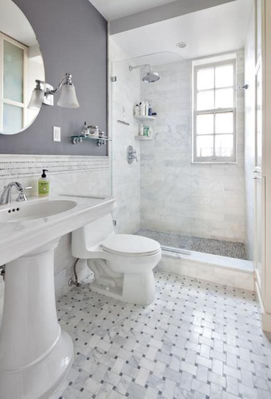 Gray Half Bathroom Decorating Ideas On A Budget 7