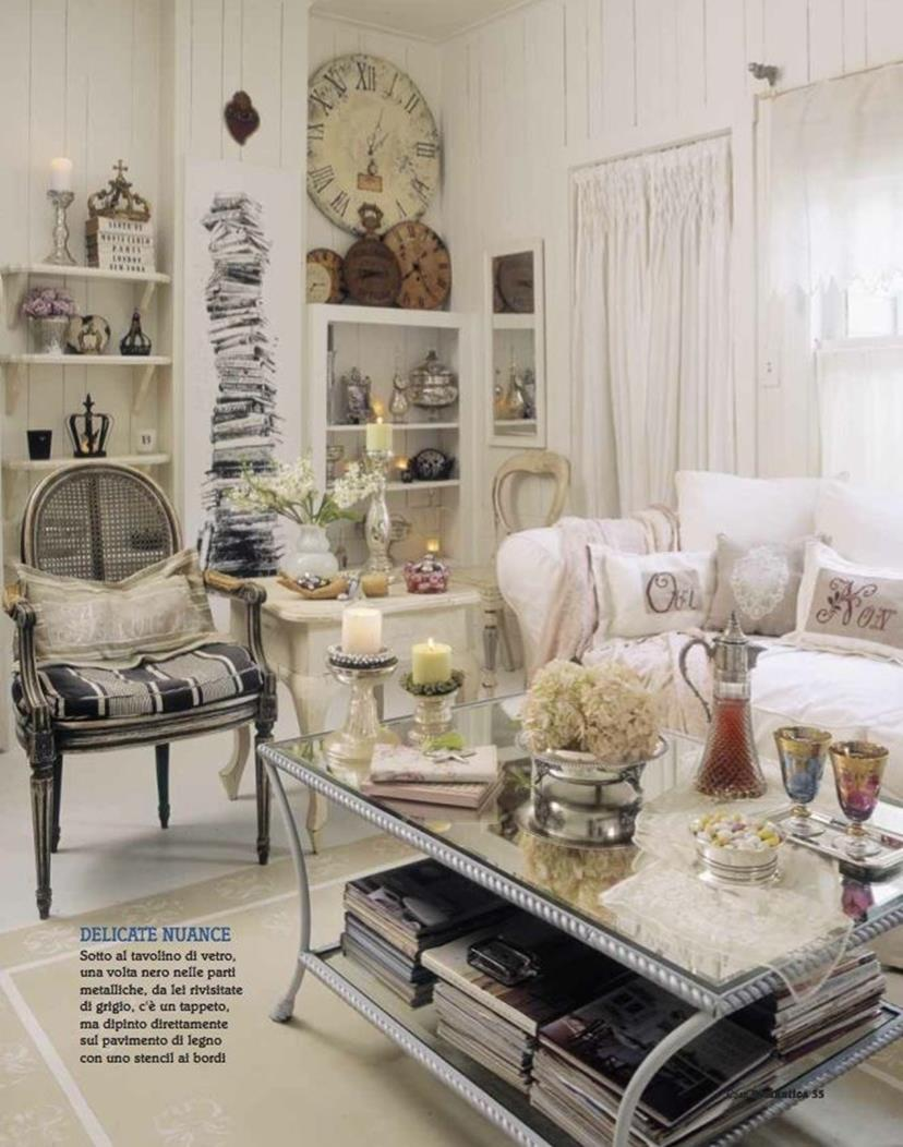 Shabby Chic French Country Decorating Ideas 10