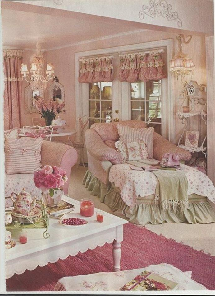 Shabby Chic French Country Decorating Ideas 6