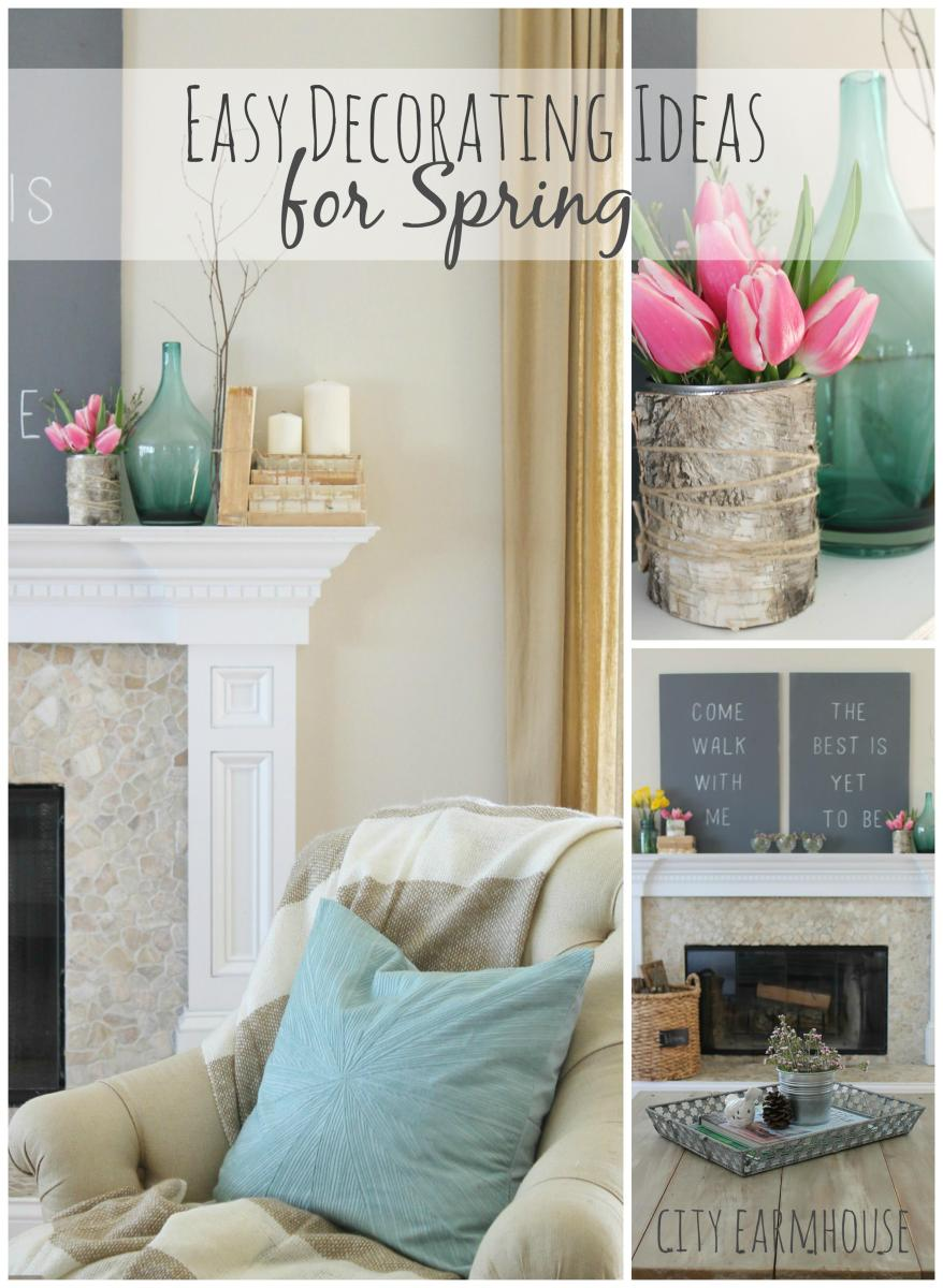 Spring Farmhouse Decorating Ideas 26