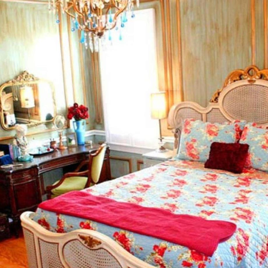 Vintage Girl Bedroom Decorating Ideas 16