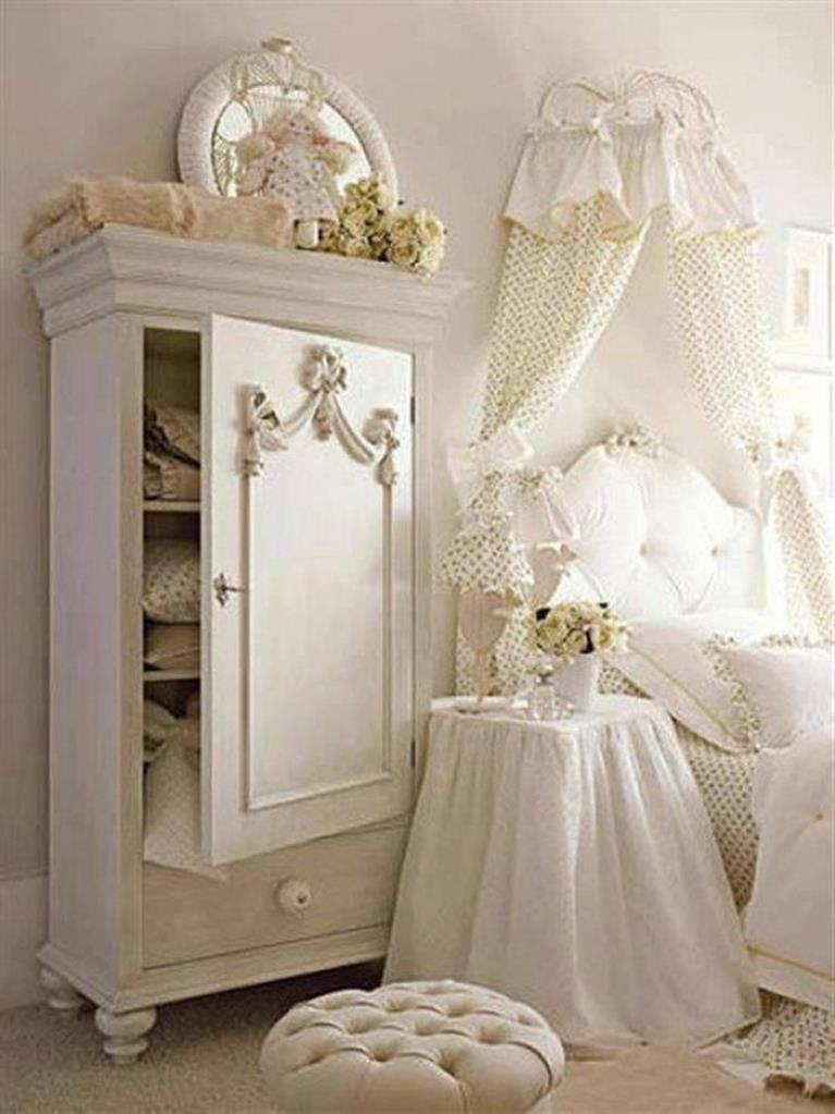 Vintage Girl Bedroom Decorating Ideas 29