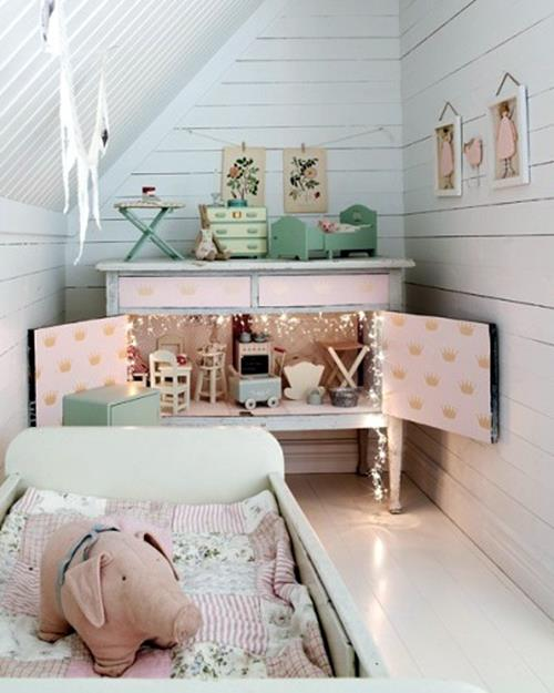 Vintage Girl Bedroom Decorating Ideas 5