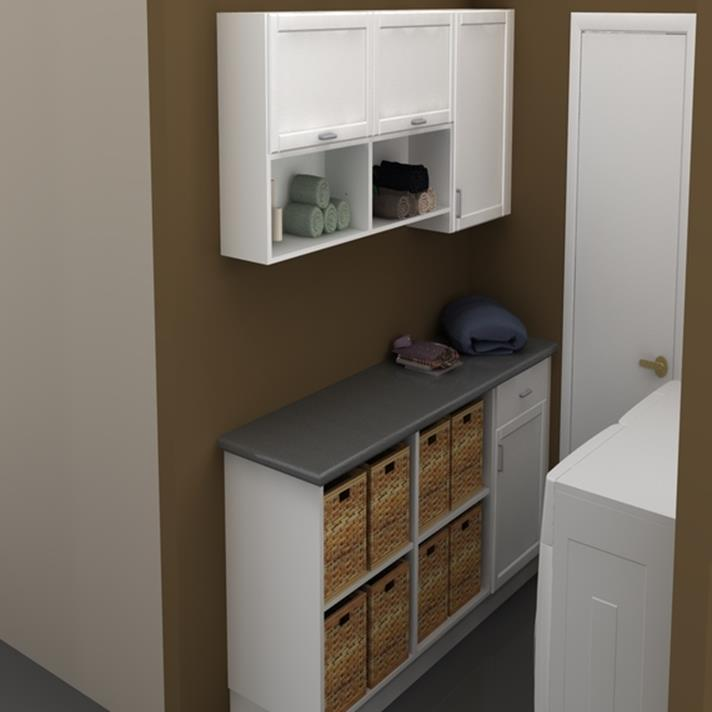 Best Cheap IKEA Cabinets Laundry Room Storage Ideas 13