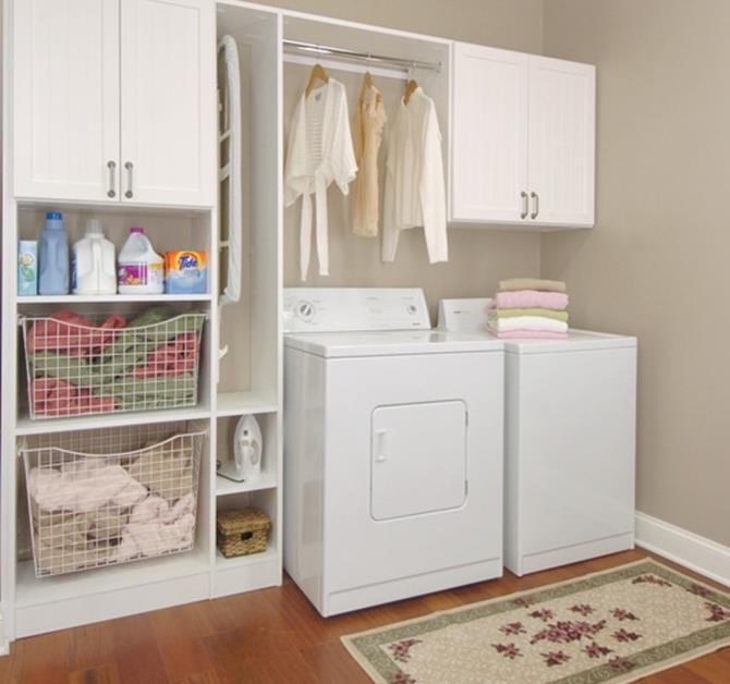 Best Cheap IKEA Cabinets Laundry Room Storage Ideas 22
