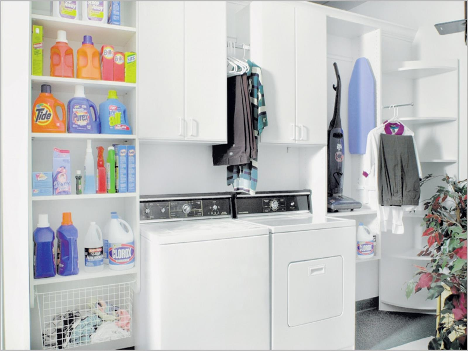 Best Cheap IKEA Cabinets Laundry Room Storage Ideas 23