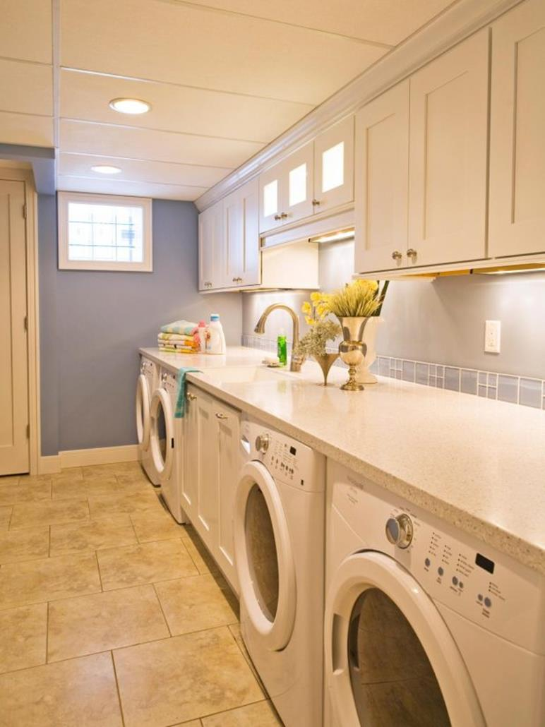 Best Cheap IKEA Cabinets Laundry Room Storage Ideas 24
