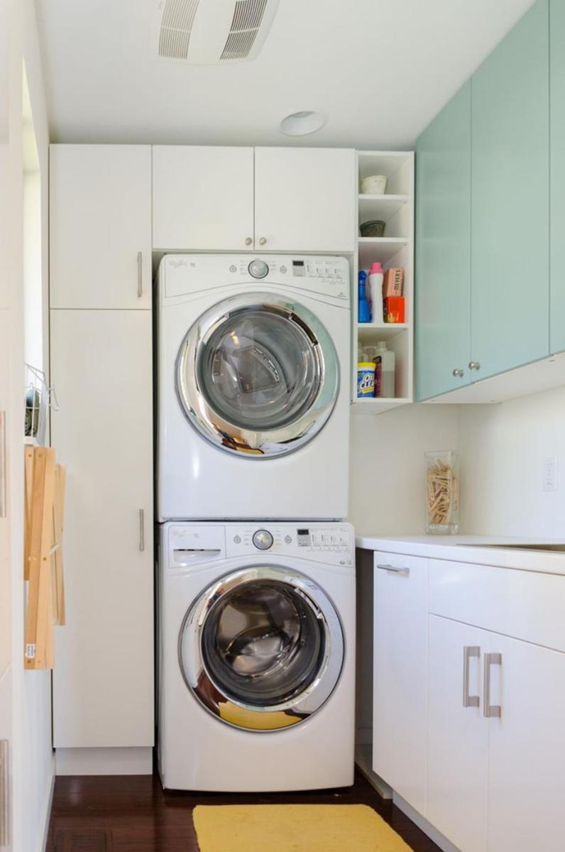 Best Cheap IKEA Cabinets Laundry Room Storage Ideas 7