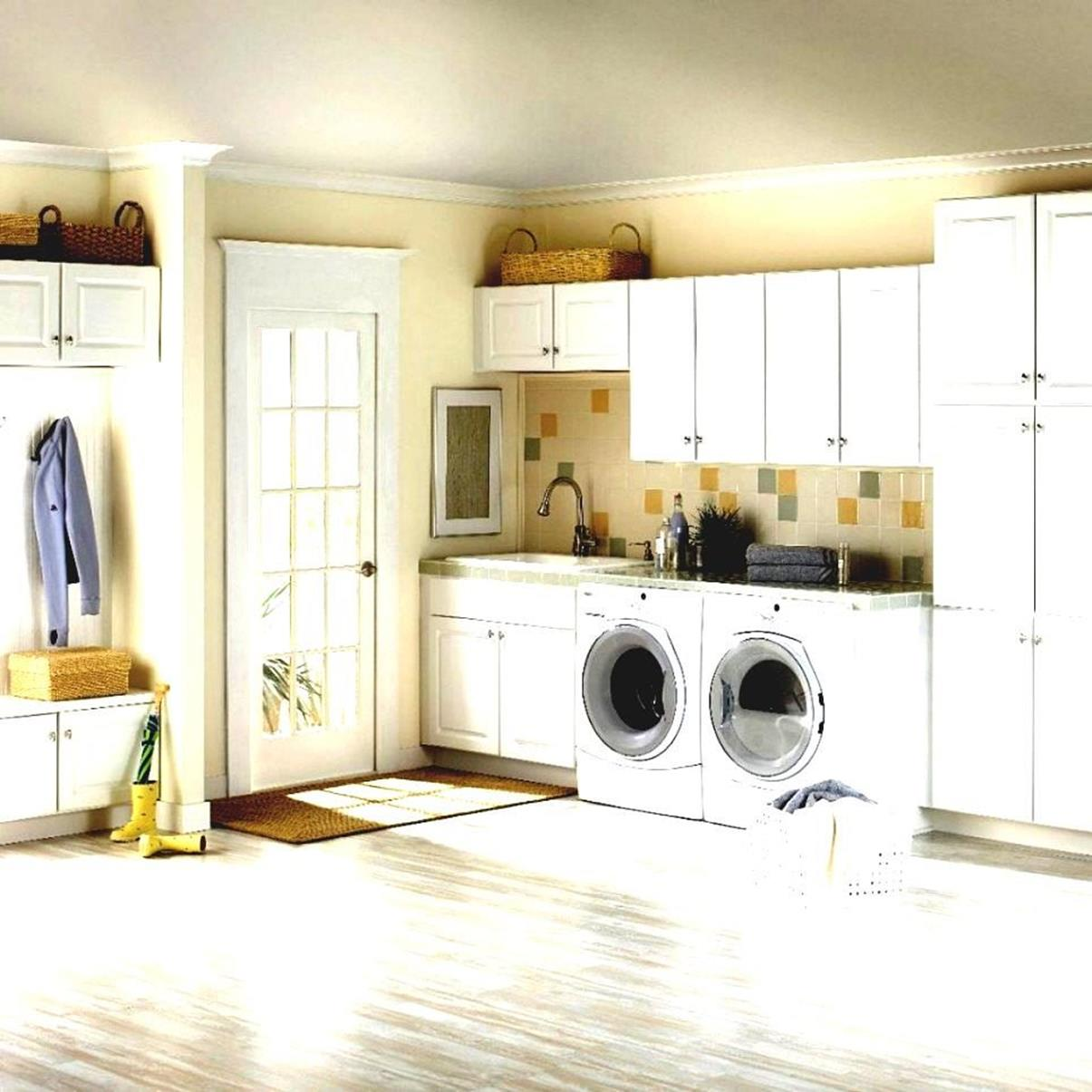 Best Cheap IKEA Cabinets Laundry Room Storage Ideas 8