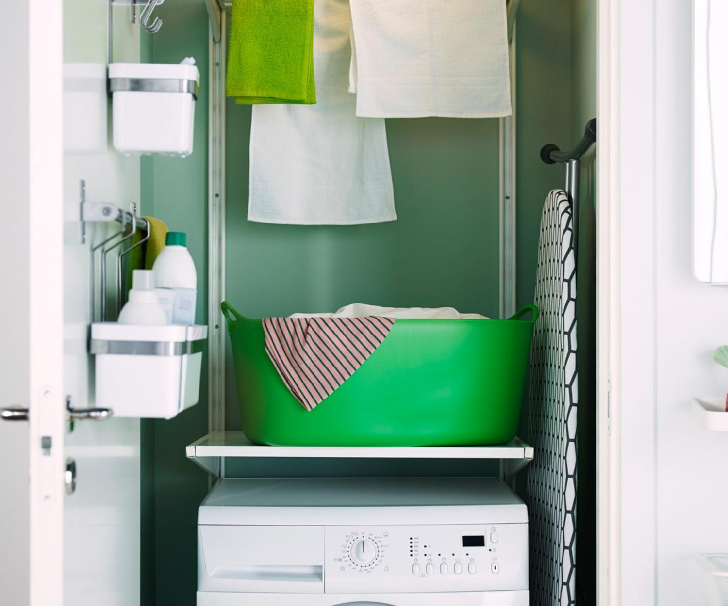 Best Cheap IKEA Cabinets Laundry Room Storage Ideas 9