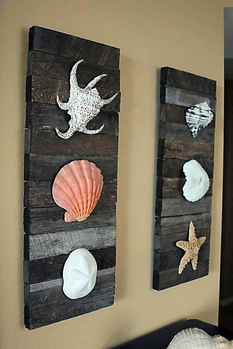 DIY Gorgeous Beach Themed Wall Decorating Ideas 31