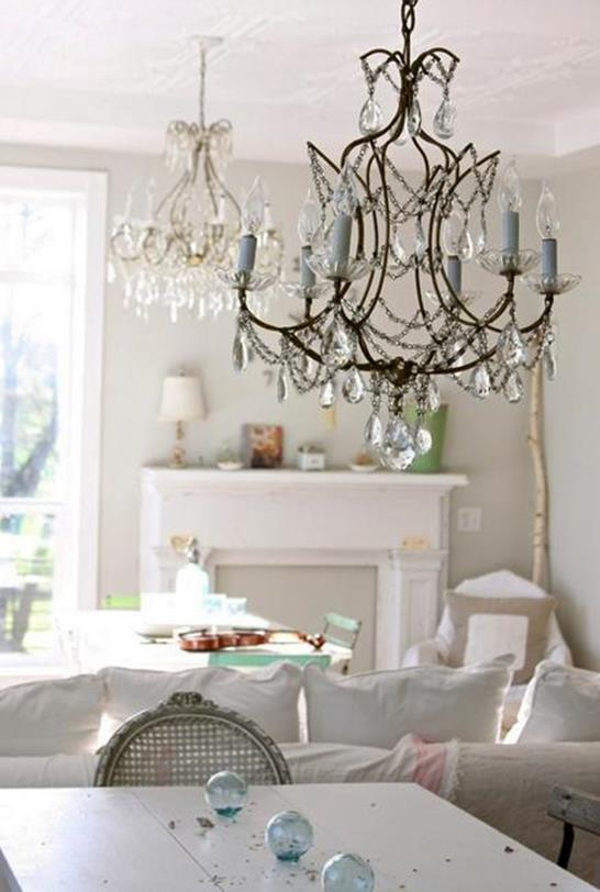 Gorgeous Shabby Chic Apartment Decorating Ideas 17