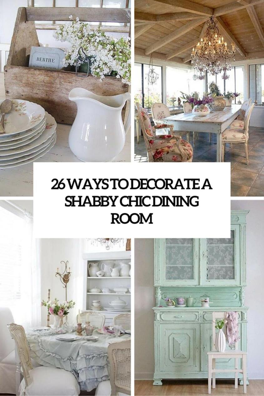 Gorgeous Shabby Chic Apartment Decorating Ideas 21