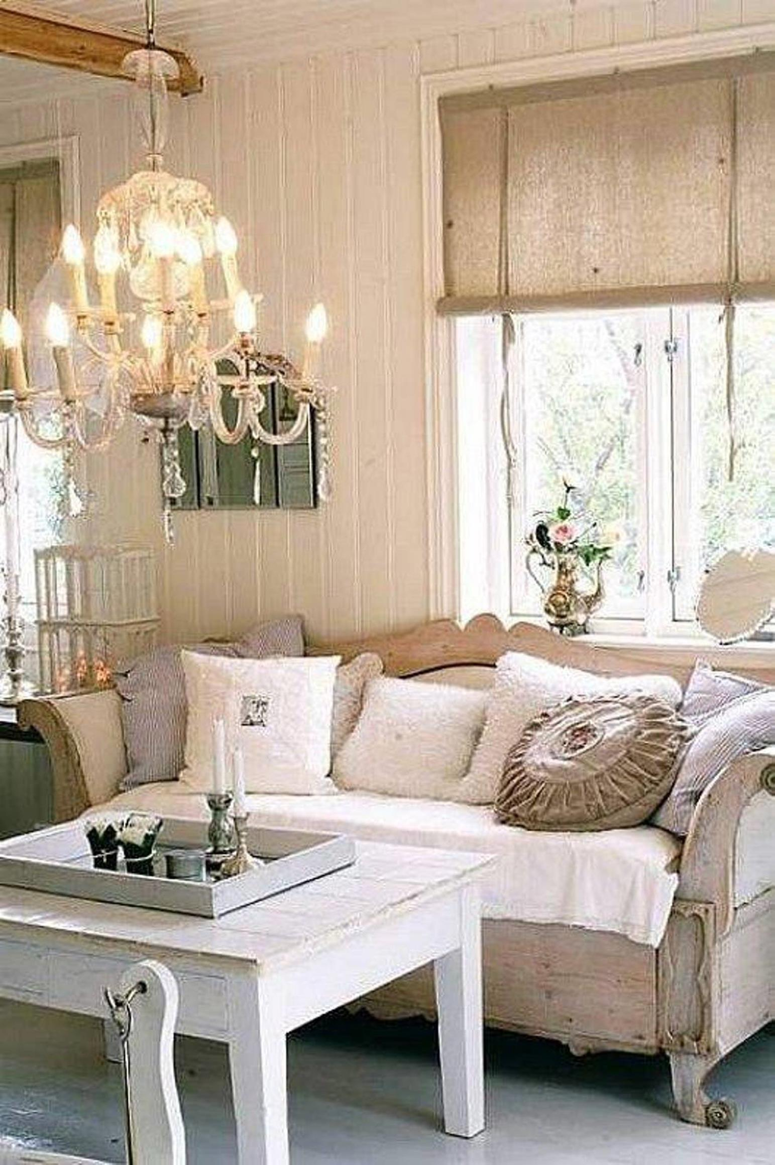 Gorgeous Shabby Chic Apartment Decorating Ideas 4