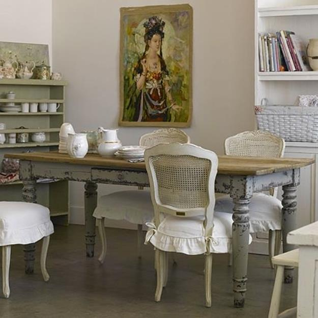Gorgeous Shabby Chic Apartment Decorating Ideas 9