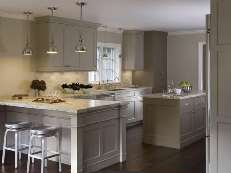 Light Grey Kitchen Cabinets Ideas 19