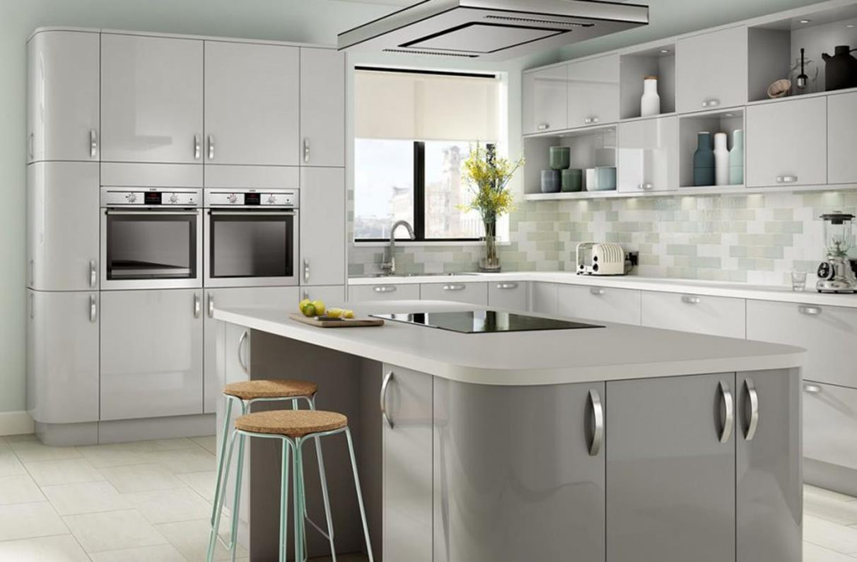Light Grey Kitchen Cabinets Ideas 22