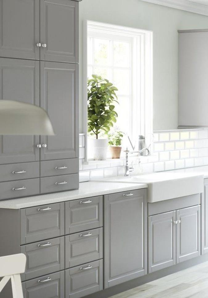 Light Grey Kitchen Cabinets Ideas 3