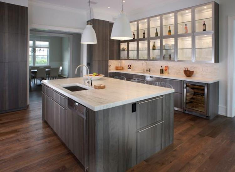Light Grey Kitchen Cabinets Ideas 33