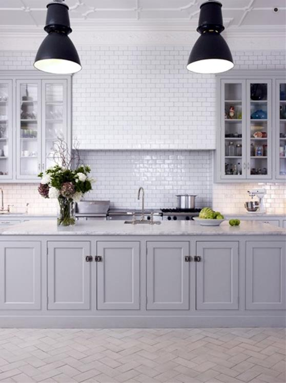 Light Grey Kitchen Cabinets Ideas 39