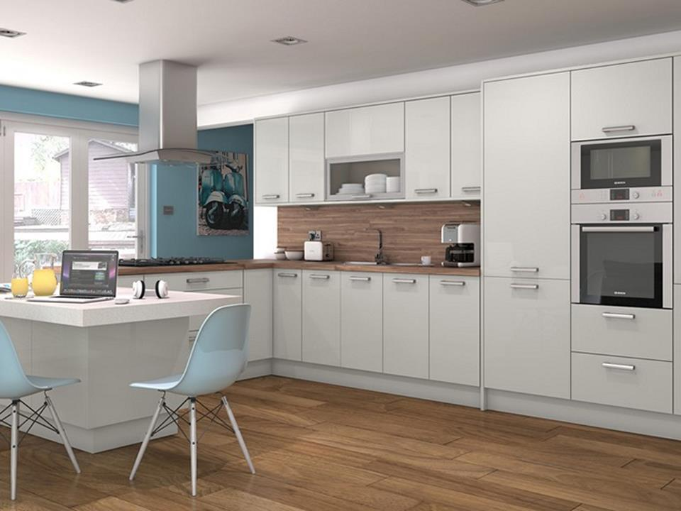 Light Grey Kitchen Cabinets Ideas 43