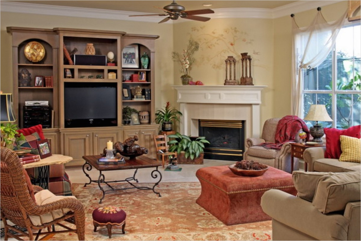 45 Amazing Ideas Country Chic Living Room 45 Country Shabby Chic Living Room [peenmedia] 5