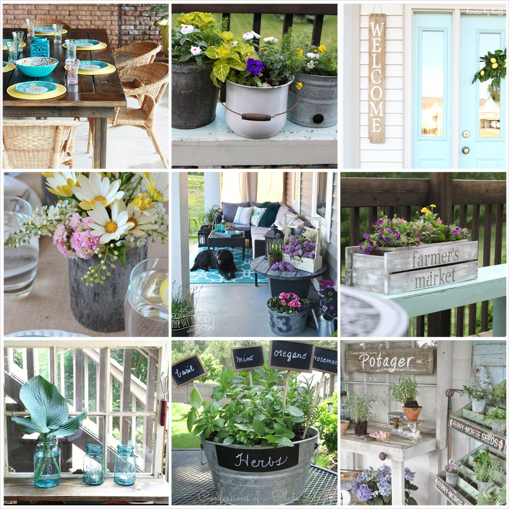 42 Amazing Ideas Country Garden Decor 19 12 Gorgeous Country Farmhouse Outdoor Décor Ideas 5
