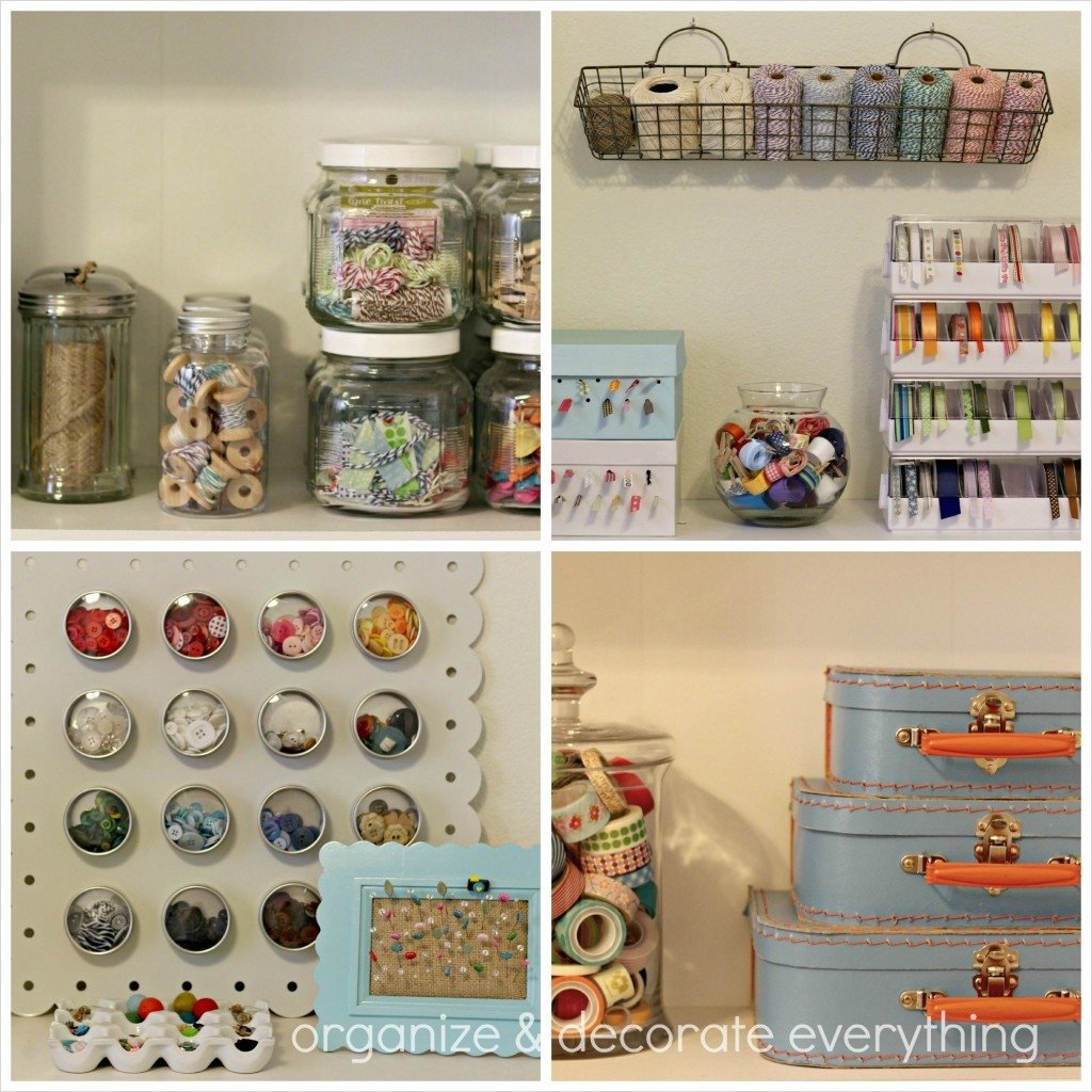 Craft Room Wall Decor 36 Craft Room organize and Decorate Everything Craft Storage Ideas 4