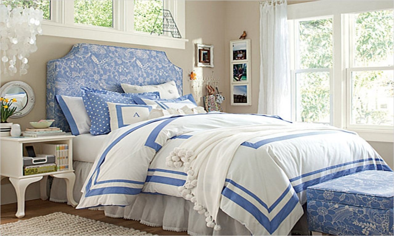 41 Amazing Dream Bedrooms for Teenage Girls 82 Lavender Teenage Bedrooms Dream Bedrooms for Teenage Girls Teen Girl Bedroom Ideas Blue White 7
