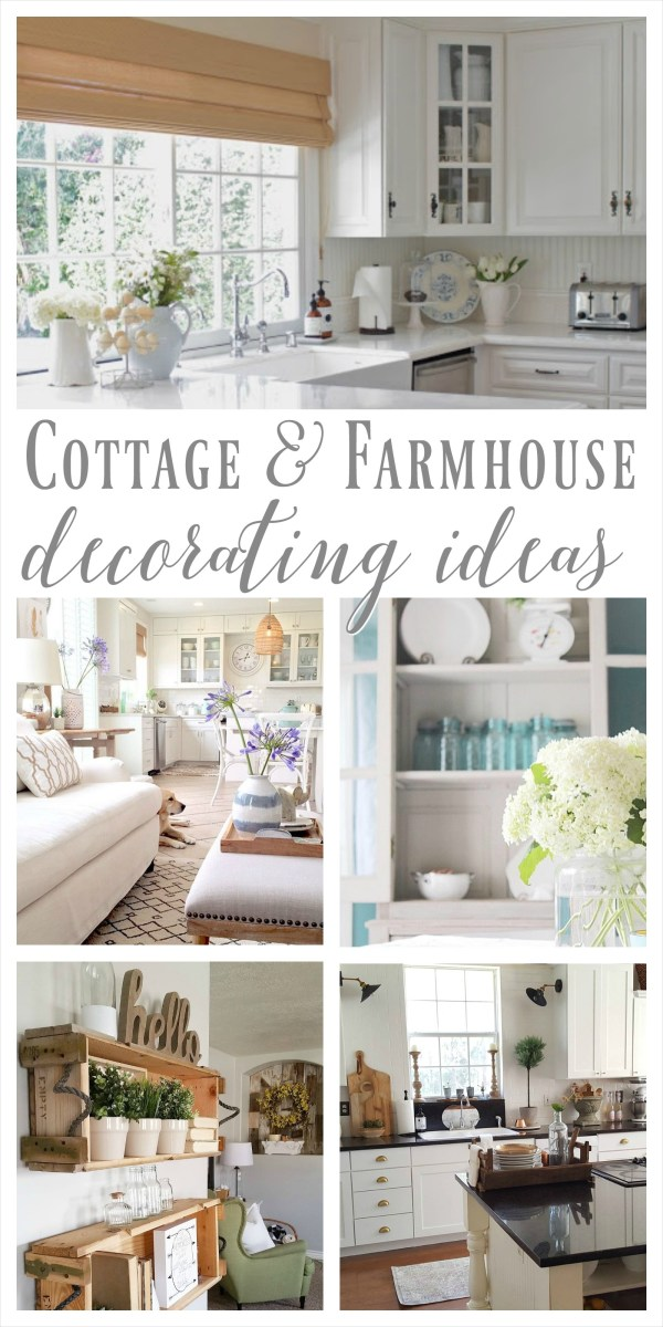 Farmhouse Chic Decorating Ideas 91 Cottage Farmhouse Features From Foxhollowfridayfavs 1