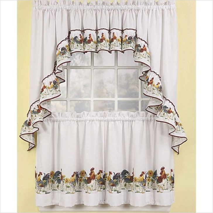 41 Perfect Farmhouse Country Kitchen Curtain Valances 58 Farmhouse Country Kitchen Curtain Valances Rooster Curtains Lowe S French with Additional 2