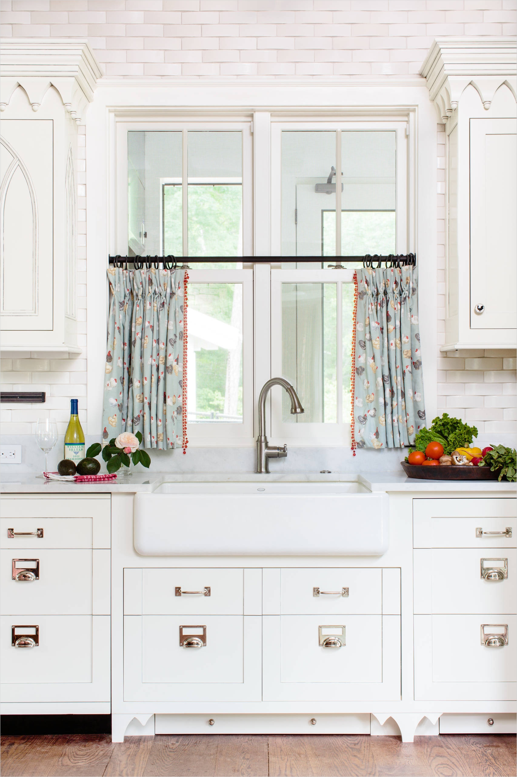 41 Perfect Farmhouse Country Kitchen Curtain Valances 77 10 Best Patterns for Kitchen Curtains 6