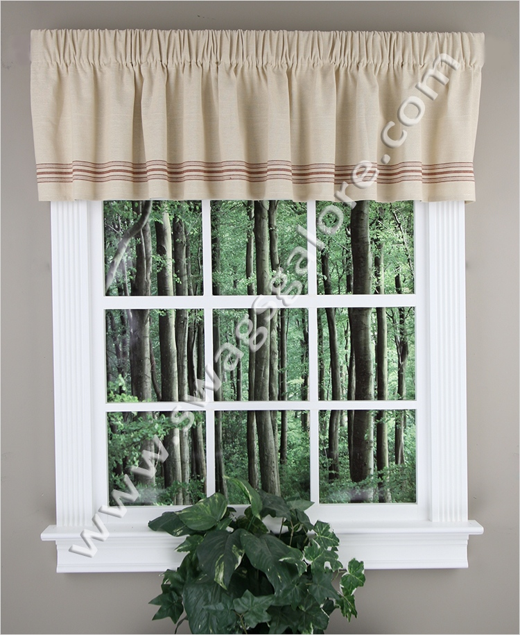 41 Perfect Farmhouse Country Kitchen Curtain Valances 65 Farm House Valance Multi Park Designs Country Style Valances 5