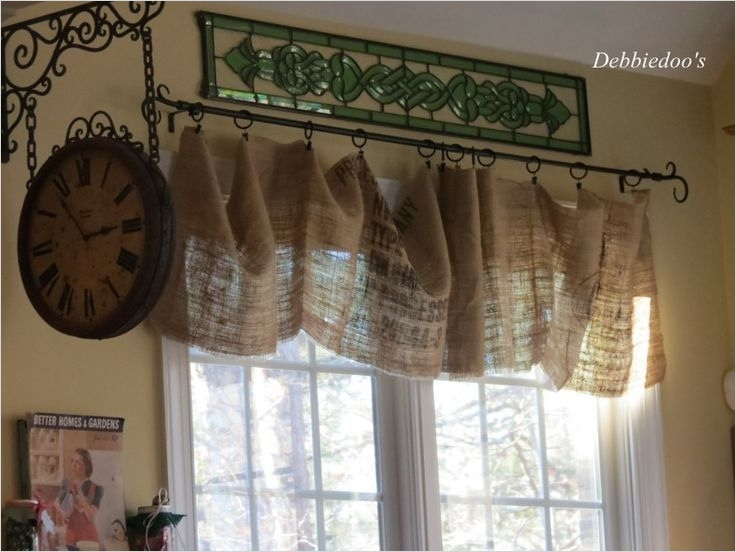 41 Perfect Farmhouse Country Kitchen Curtain Valances 81 Pinterest French Country Christmas Decorations 4