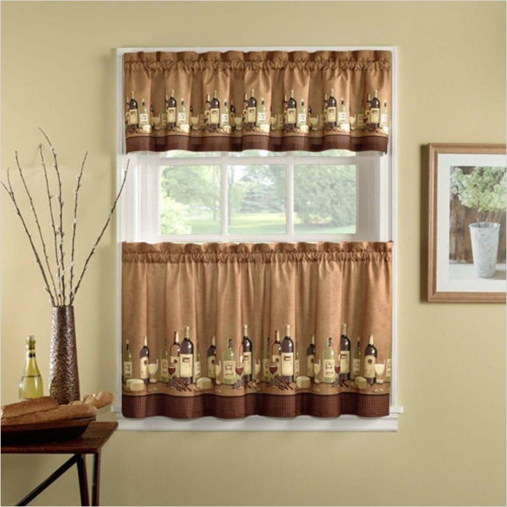 Farmhouse Country Kitchen Curtain Valances