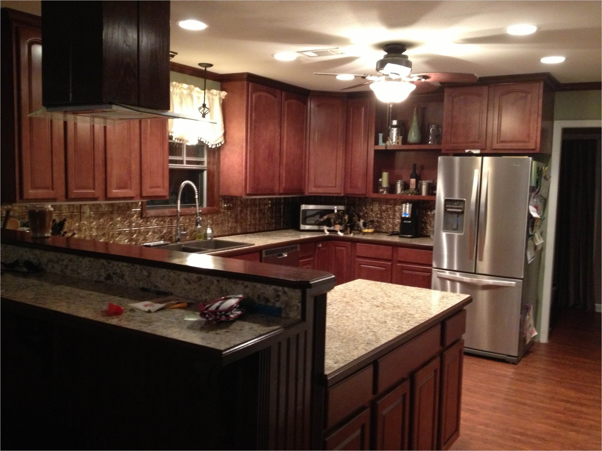 kitchen with maple cabinets color ideas 19 - Gongetech