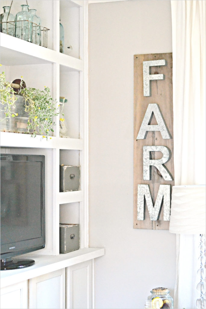 44 Gorgeous Farmhouse Wall Decor 73 100 Diy Farmhouse Home Decor Ideas the 36th Avenue 2