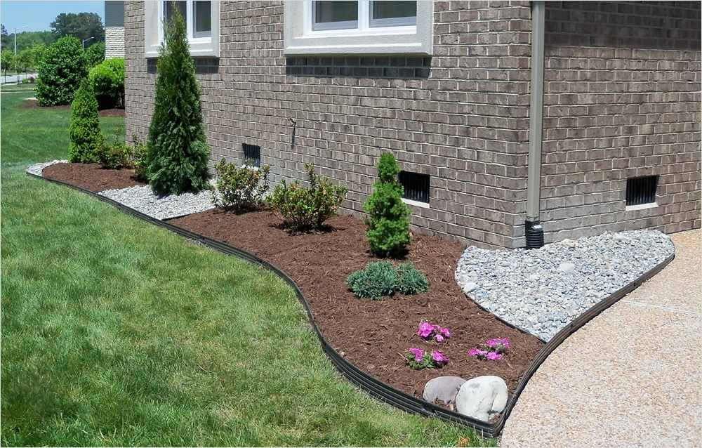 43 Perfect Gravel Landscaping Ideas 14 Nice Stones Edging and Gravel Landscaping Ideas — Jbeedesigns Outdoor Stones Edging and 2