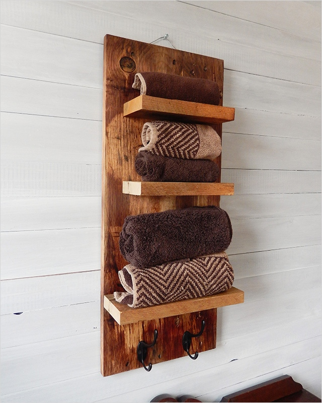 44 Creative Ideas Rustic Bathroom Walls Shelf 74 Rustic Bathroom Shelves with Hooks Natural Designs by Rio 8