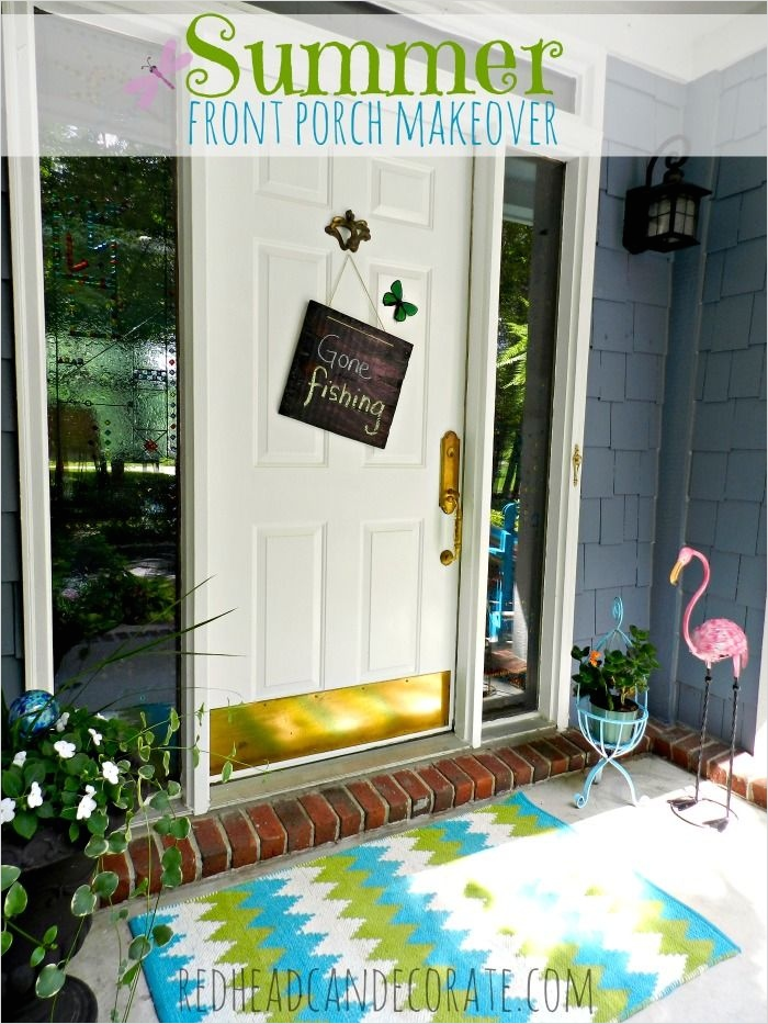 40 Beautiful Summer Porch Decorating Ideas 97 Summer Front Porch Makeover 5