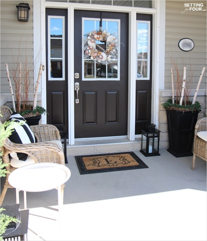 40 Beautiful Summer Porch Decorating Ideas 82 Beach Style Decorating Ideas Setting for Four 6